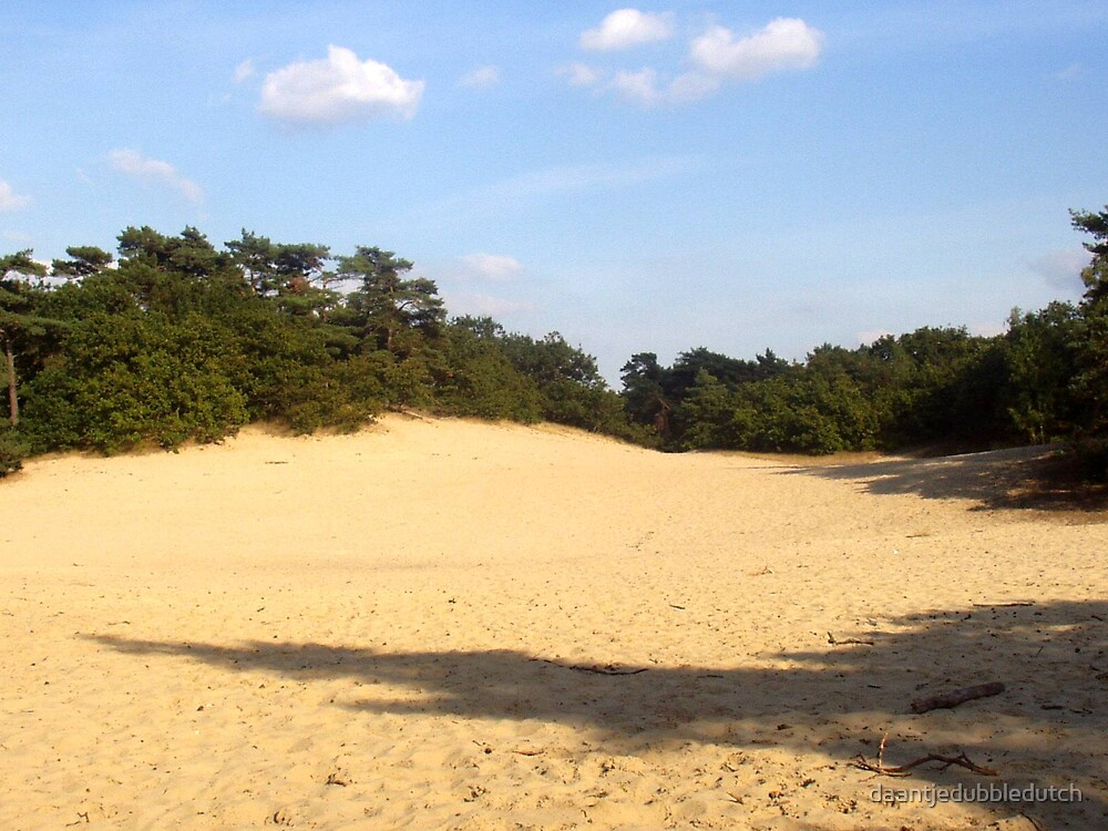 sanddunes in the netherlands by daantjedubbledutch