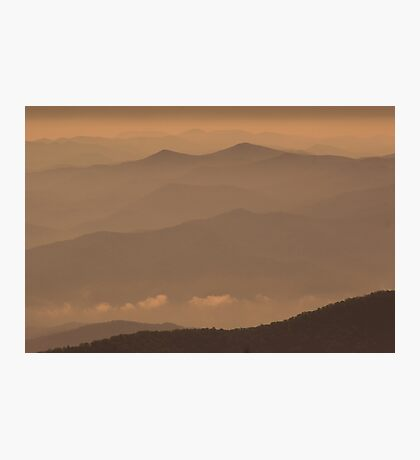 Early Morning Smokies Photographic Print