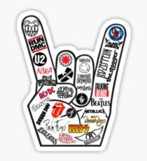 Rock Bands Sticker