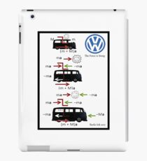 VW Physics the force is strong iPad Case/Skin