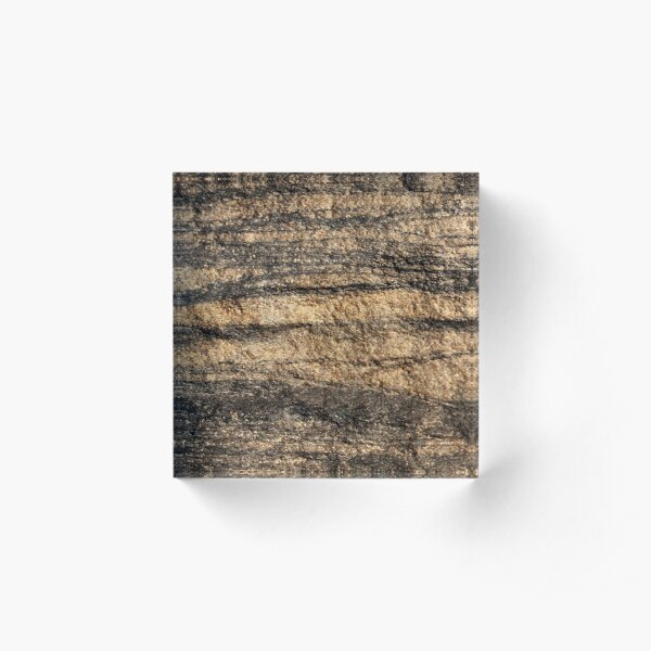 The Hidden Land - Storm! Acrylic Block