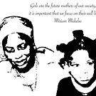 Miriam Makeba -Girls are the future mothers of our society by TatuShop