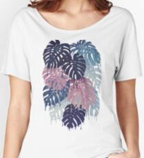 Monstera Melt Women's Relaxed Fit T-Shirt