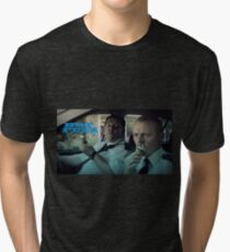 HOT FUZZ  Tri-blend T-Shirt