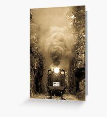 Bellbrid Steam Train Greeting Card