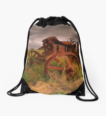 Briars Tractor - Mt Martha Drawstring Bag