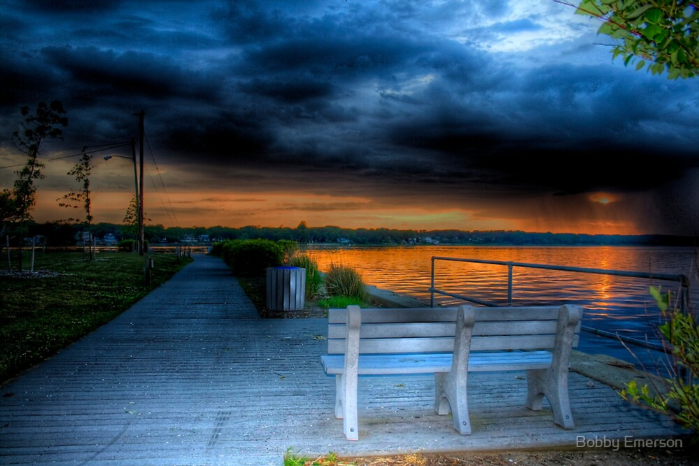 Bench With A View by Bobby Emerson