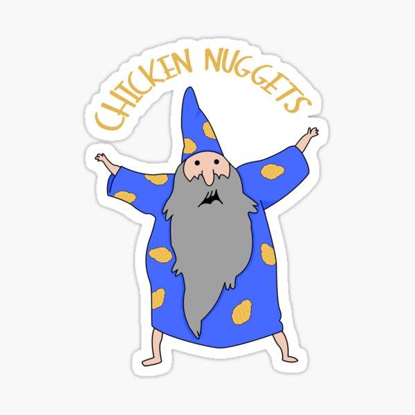der Nuggetswizzard Sticker