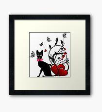 Cute  cat 02 Framed Print