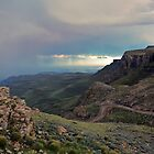 Stormfront over Sani Pass by heinrich