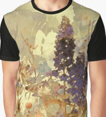 floral sur beige/floral on beige Graphic T-Shirt