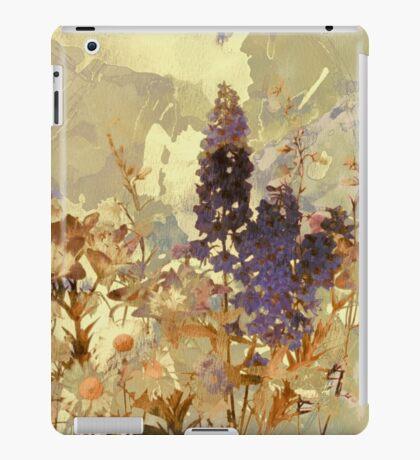 floral sur beige/floral on beige iPad Case/Skin