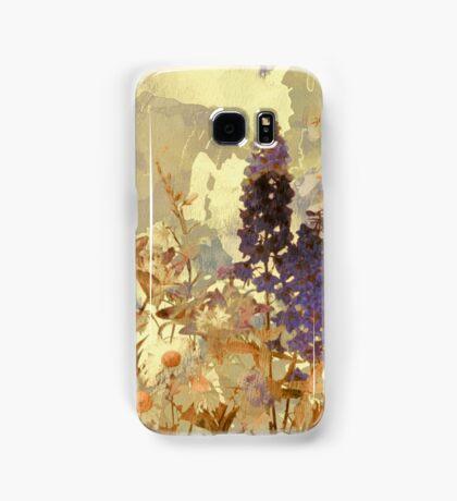 floral sur beige/floral on beige Samsung Galaxy Case/Skin