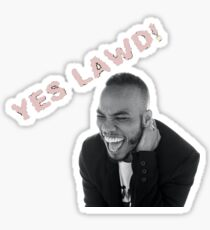 "Anderson .Paak ""Yes Lawd!"" Sticker"