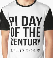 Pi Day Of The Century 14 March 2017 Graphic T-Shirt