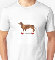 Dachshund Love Unisex T-Shirt