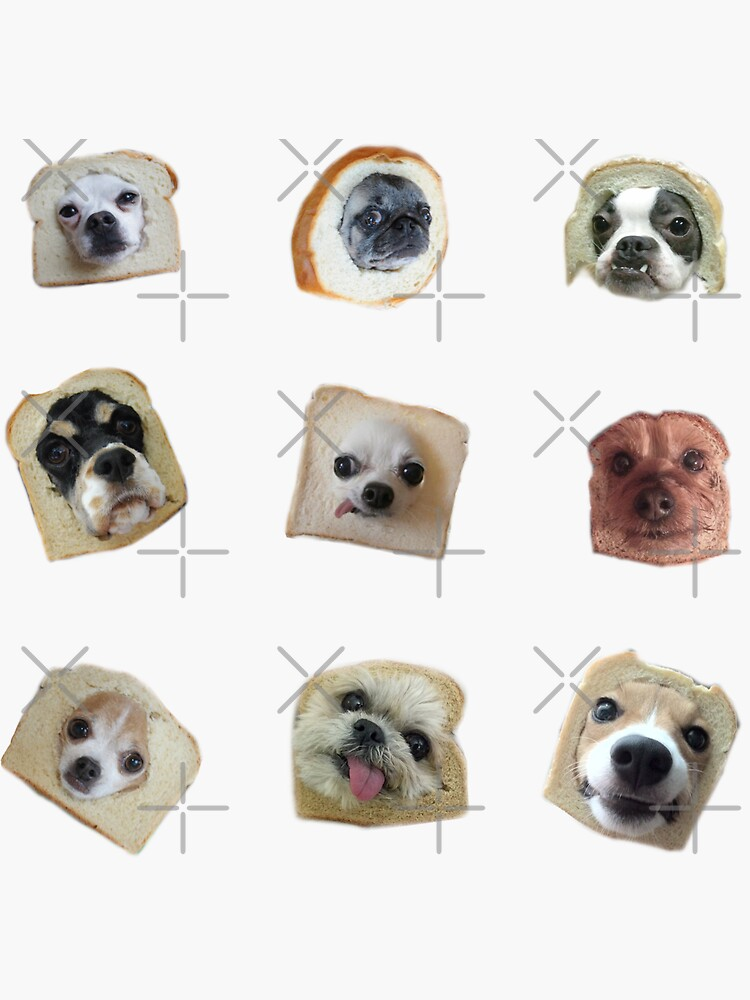 Bread Doggos Sticker Pack by Elisecv