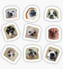 Bread Doggos Sticker