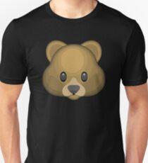Bär Gesicht Emoji Slim Fit T-Shirt