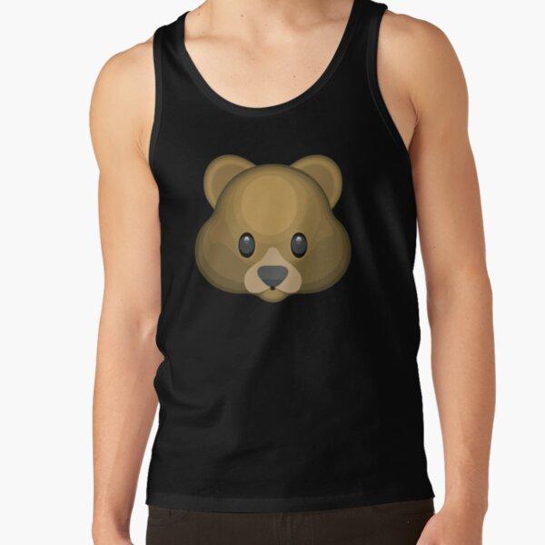 Bear face emoji Tank Top