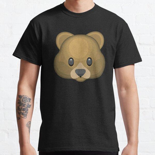 Bear face emoji Classic T-Shirt