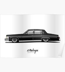 Cadillac Fleetwood Poster