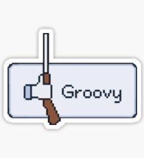 Groovy! Sticker
