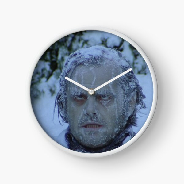 Cold As Ice Clock