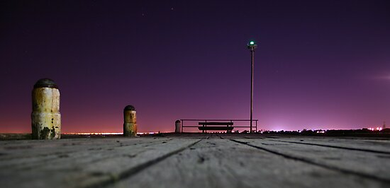 On the Pier by Jonathan Russell