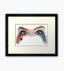 HQ Eyes Framed Print