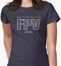 Special Rule For Model Aircraft - FPV Women's Fitted T-Shirt