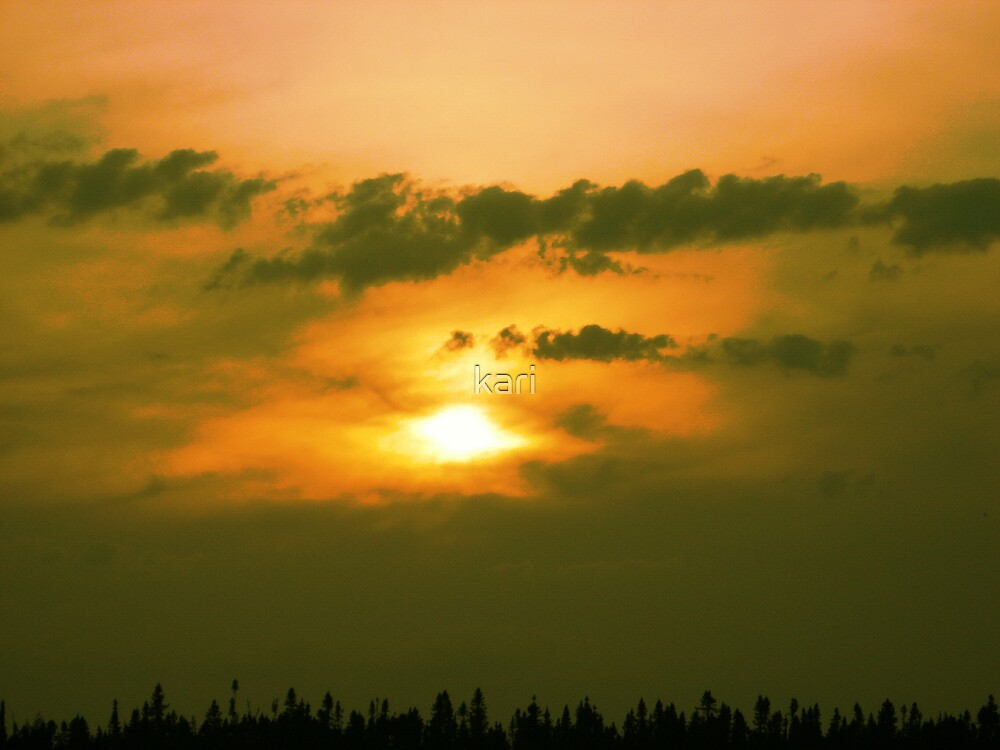 Sunset by kari