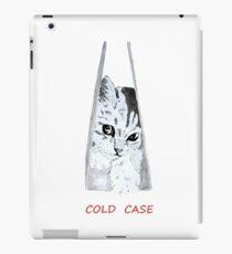 "dessin chat ""cold case"" iPad Case/Skin"