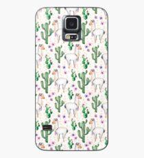Funny Llama Pattern Case/Skin for Samsung Galaxy