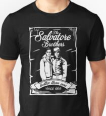 The Salvatore Brothers. Hotter Than You Since 1864. Unisex T-Shirt