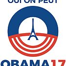 Obama for president (2017 french presidential election) by MrYum