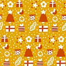 Christmas Pattern by Sonia Pascual
