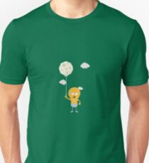 light bulb switch on the moon Re7r4 Unisex T-Shirt