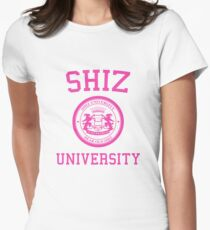 """Shiz University - Wicked """"Popular"""" Version Women's Fitted T-Shirt"""