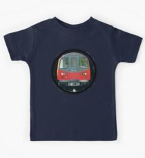 TUBE, TRAIN, Tunnel, London, Underground, UK, GB Kids Tee