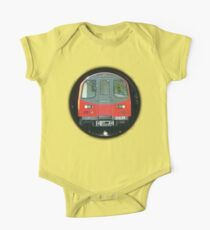 TUBE, TRAIN, Tunnel, London, Underground, UK, GB One Piece - Short Sleeve