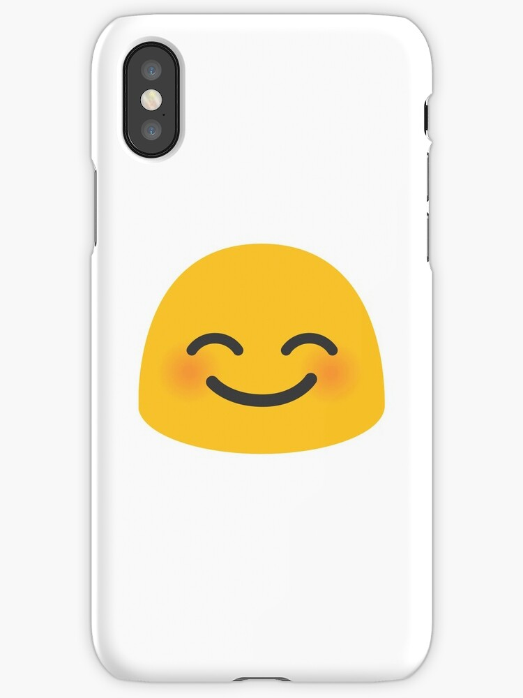 Smiling Face With Eyes Shy Smile Emoji By Totesemotes