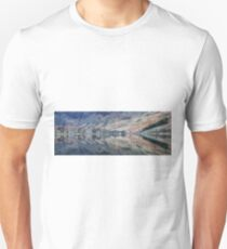 Panorama of Buttermere Reflections Unisex T-Shirt