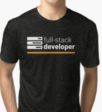 Full Stack Developer Tri-blend T-Shirt