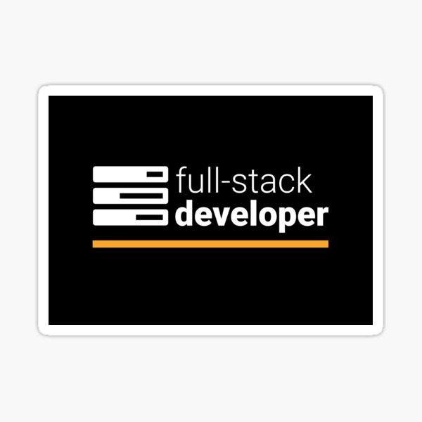 Full Stack Developer Sticker