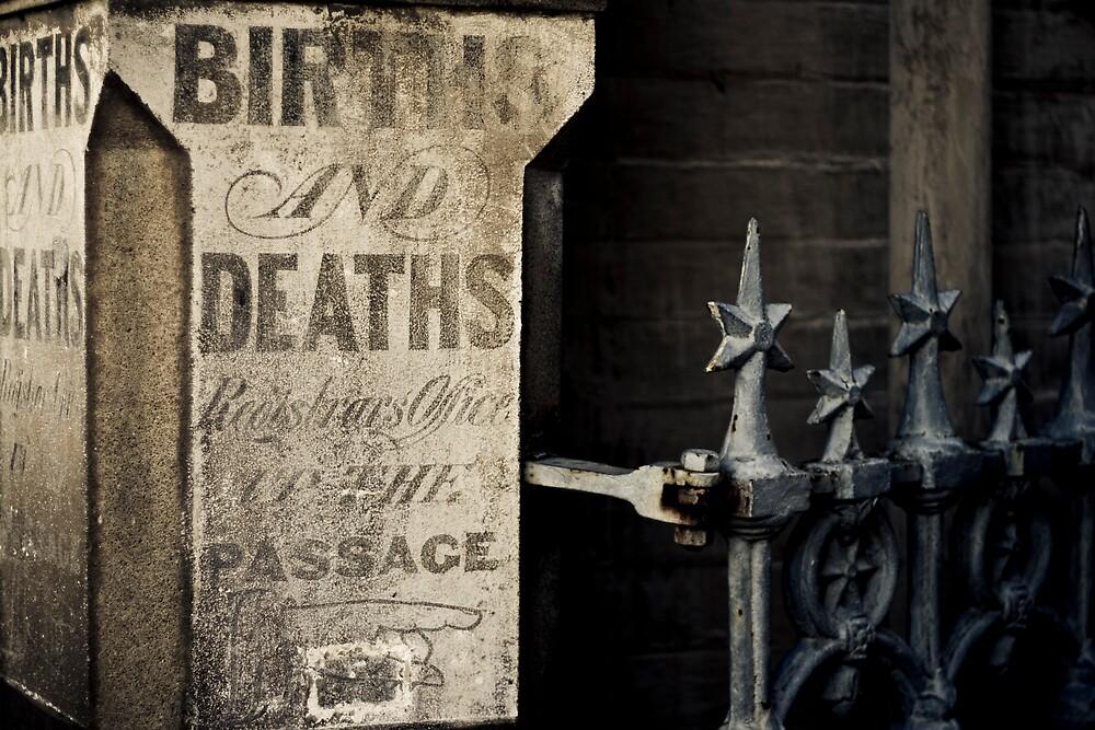 Births & Deaths by Marcus Mawby