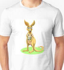 Cute kangaroos Unisex T-Shirt