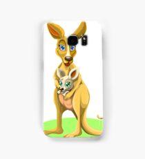 Cute kangaroos Samsung Galaxy Case/Skin