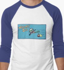 Watery Joe Men's Baseball ¾ T-Shirt