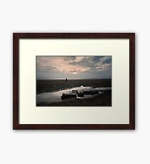 Burnham Beach Framed Print